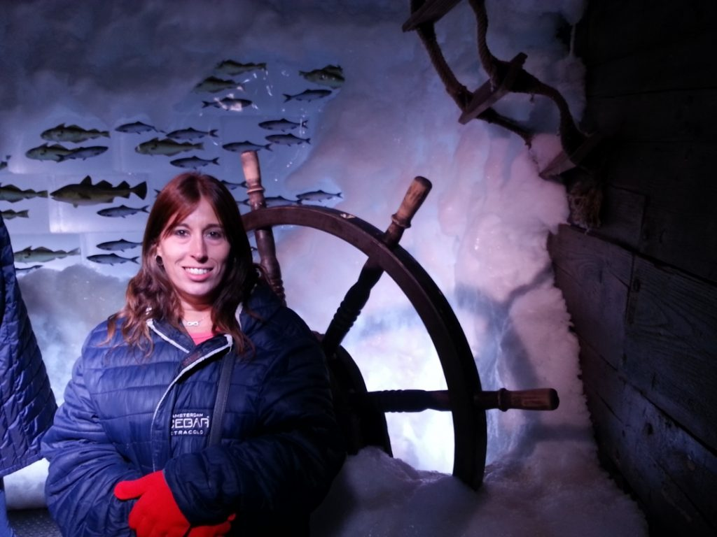 Daniella all' ICE BAR