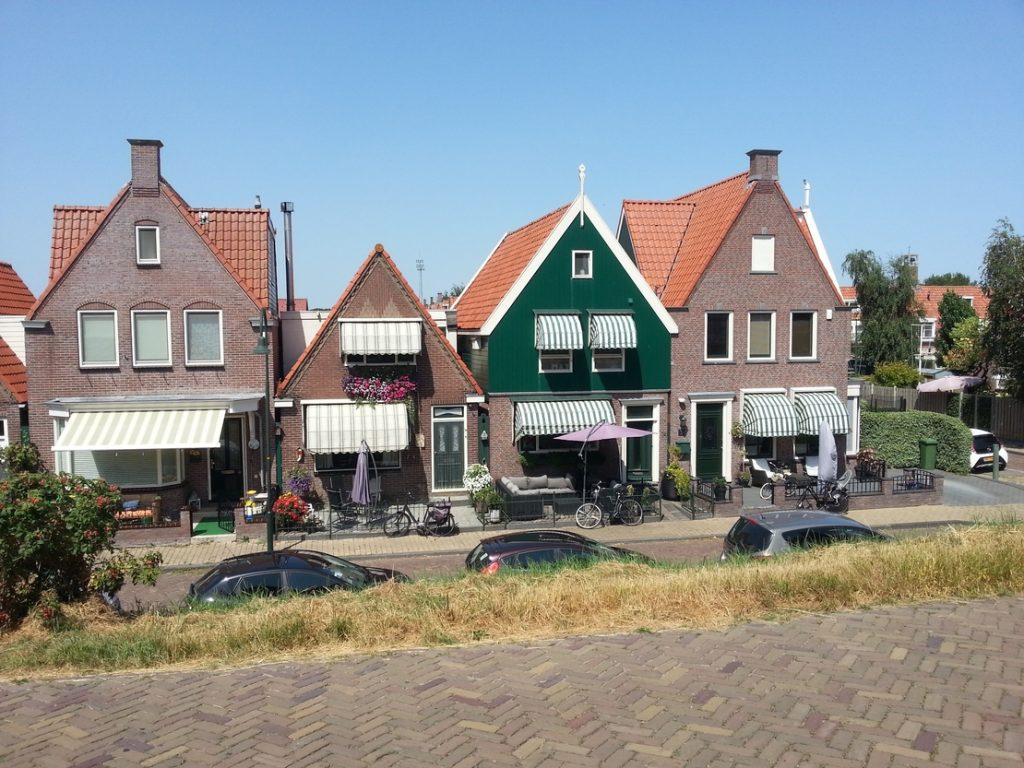 Casette tipiche olandesi di Volendam