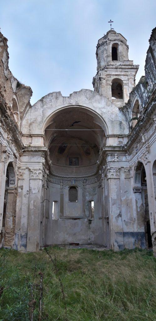 Quello che rimane della Chiesa di S. Egidio