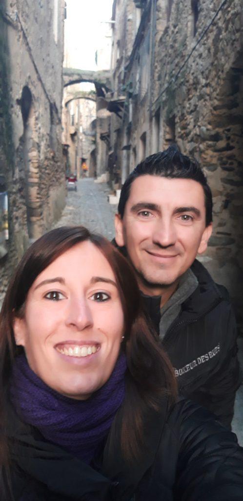 Luigi e Daniella a Bussana Vecchia