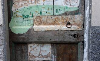 Porta dipinta SENZA TITOLO Valloria