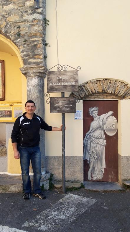 """Porta dipinta """"Valloria"""""""