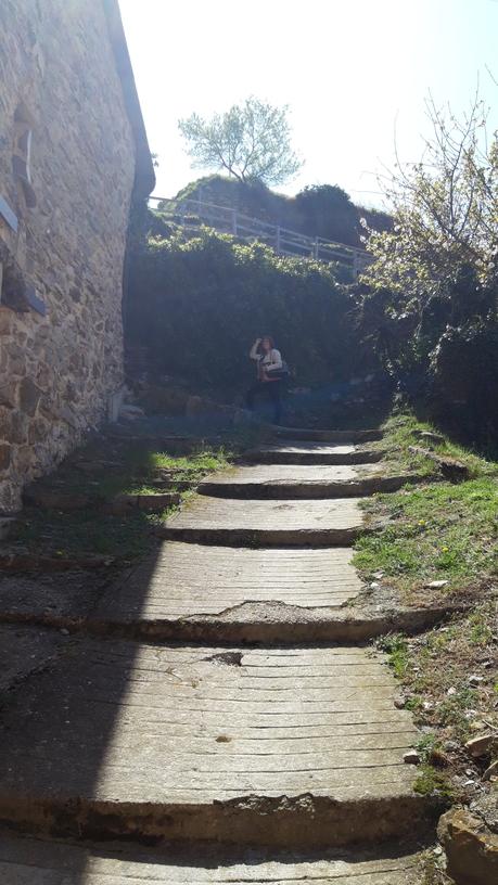 Valloria - Salita direzione Chiesa di San Giuseppe