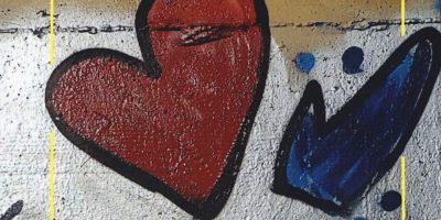 Il cuore sul muro di Marco Vallarino