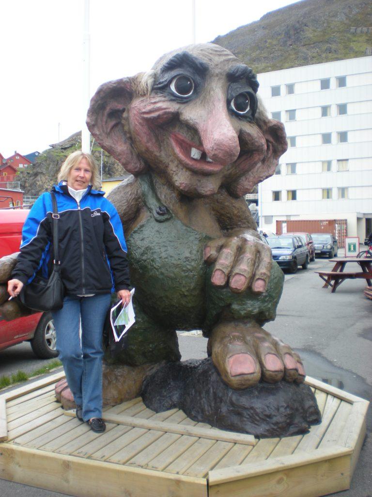 Il Troll simbolo della Norvegia