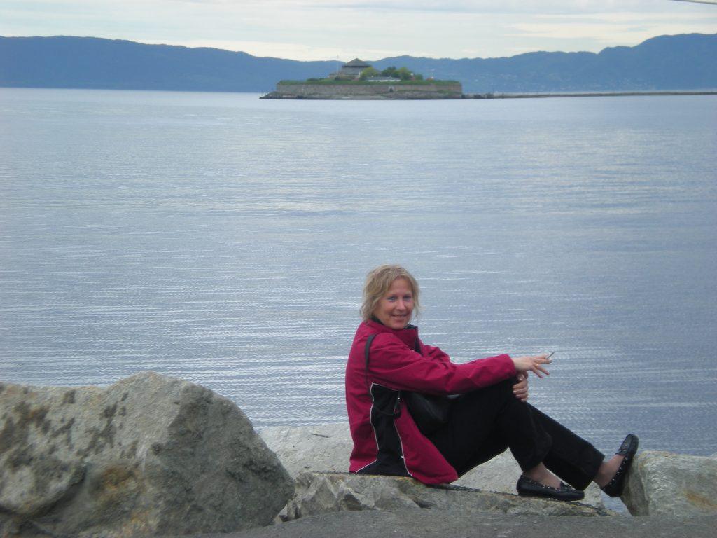 Sull'isola il monastero di Munkholmen