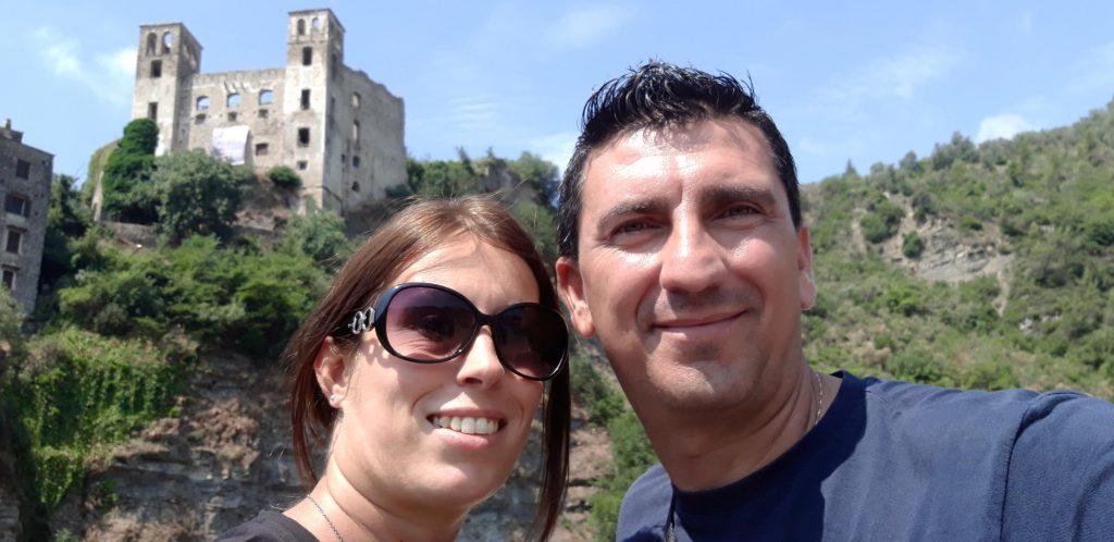 Daniella e Luigi a Dolceacqua