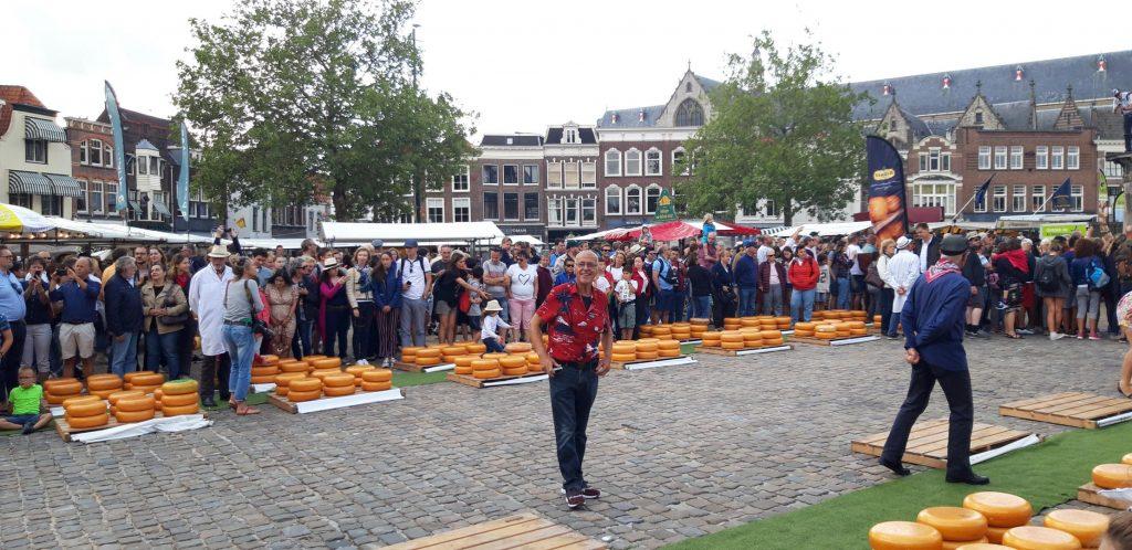 Il mercato del formaggio di Gouda
