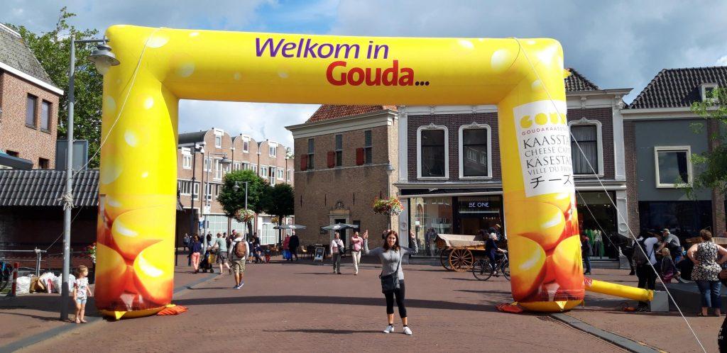 Benvenuti a Gouda la città del formaggio!