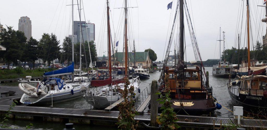 Il piccolo porto di Delfshaven