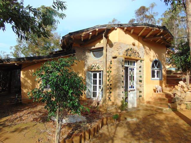 Yin Yang hobbit house