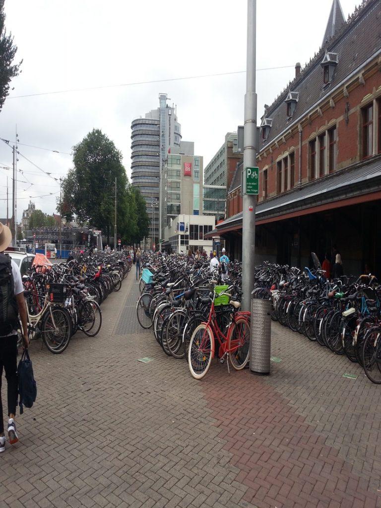 La bici uno dei mezzi di trasporto più utilizzato