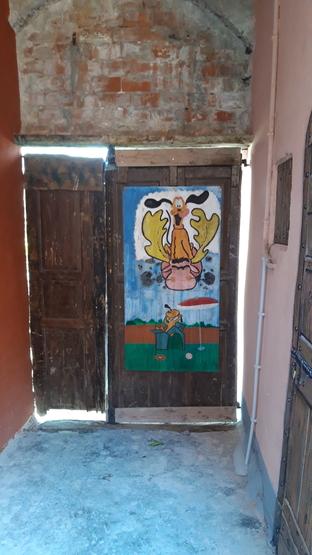 Porta dipinta SENZA TITOLO1 Valloria