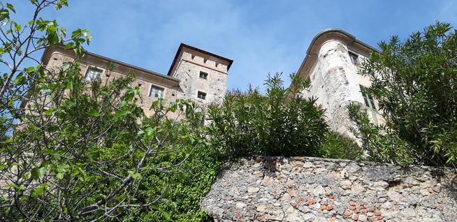 Vista del Castello di Balestrino