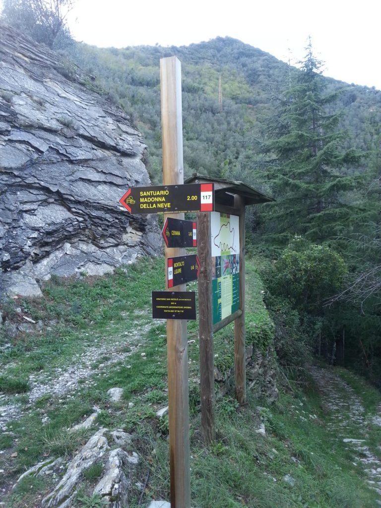 Percorsi trekking