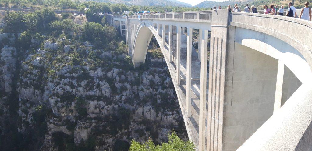 Il ponte delle vertigini -  bungee jumping