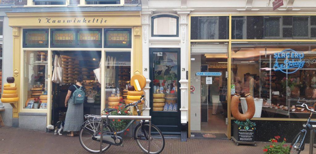 Il negozio storico di formaggi 't Kaaswinkeltje