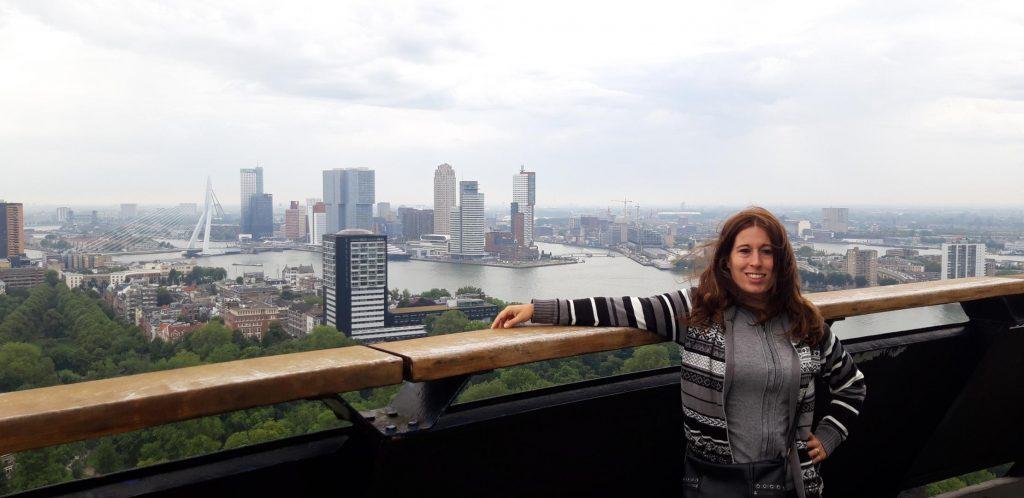 Terrazza panoramica dell'Euromast a 100 metri di altezza