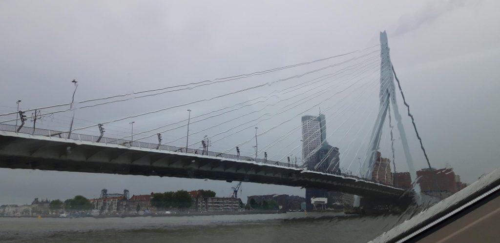 Ponte Erasmusbrug visto dal battello Spido