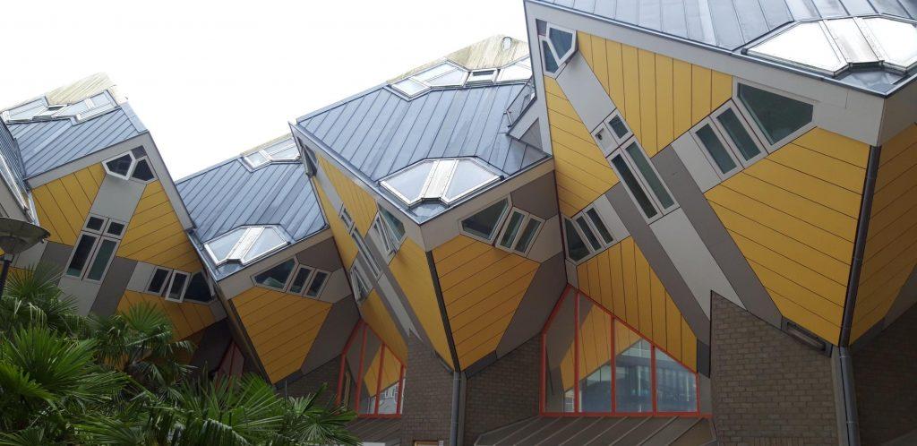 Le case cubiche del quartiere Oude haven