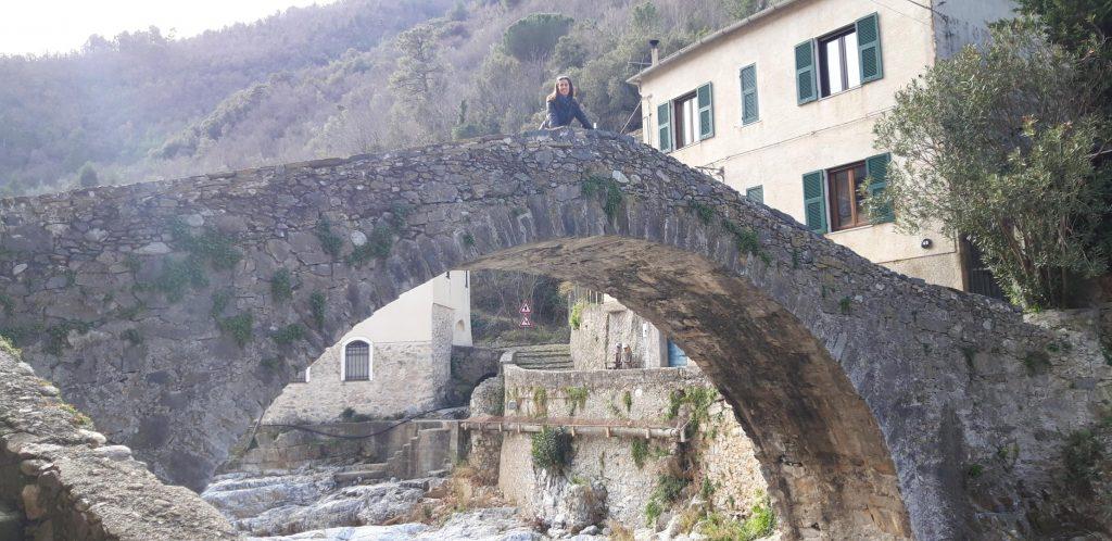 Il ponte sul torrente Neva