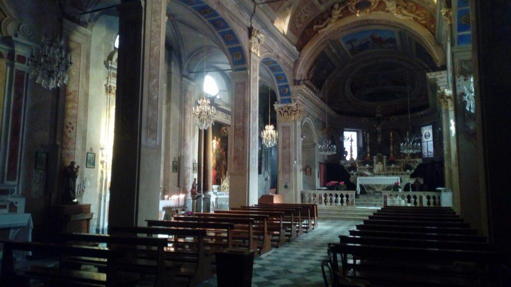 Vista interna della chiesa di San Bartolomeo