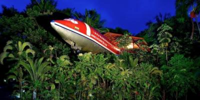 Un Hotel Dentro Un Boeing 727