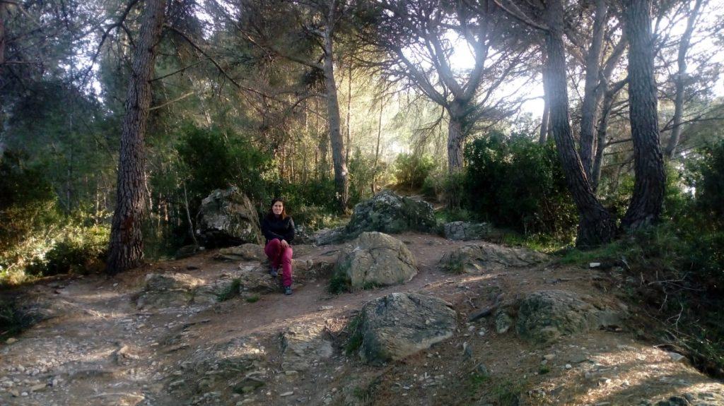 Percorso trekking Colla Micheri