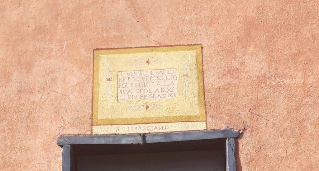 Facciata chiesa di San Sebastiano