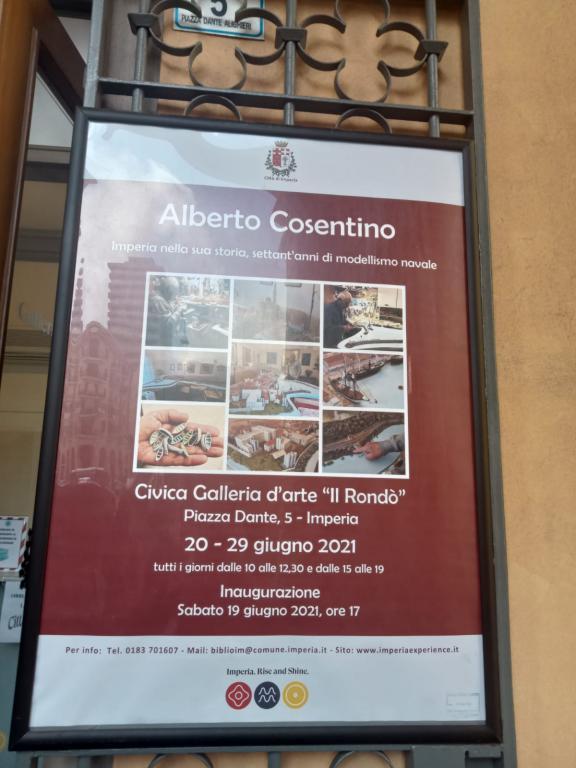 Mostra di Alberto Cosentino